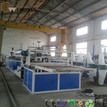Wood Plastic WPC Profile Machine WPC Cladding Panel Extrusion Line