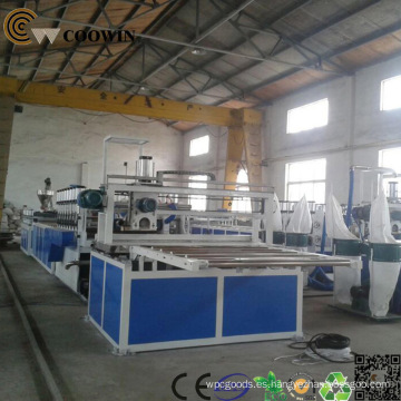 PVC / PE / PP Wood-Plastic Profile / Board Making Line