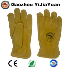 Industrial Leather Labor Driving Gloves for Drivers