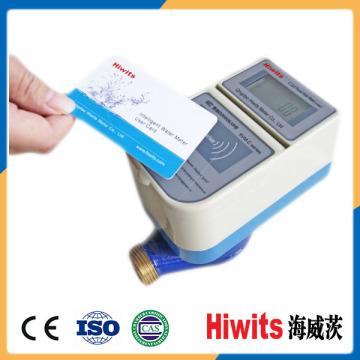 Первоначальный изготовитель Сухой / влажный латунный латунный кнопочный пульт Sts Prepaid Water Meter