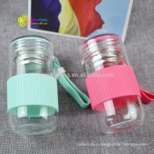 280мл OEM логотип мода рекламируя чашку дешевой цене стеклянная бутылка воды