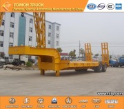 2 as laag bed semi-tailer 40000kg