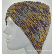 Invierno de moda de las niñas de punto gorrito sombrero (KB-080002)