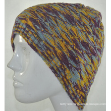 Girls Fashion Winter Knit Beanie Hat (KB-080002)