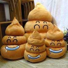 ICTI BSCI cuna marrón almohadas emoji peluche