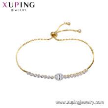 75291 pulseras xuping pulseras joyas de moda pulseras mujer