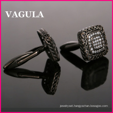 VAGULA Super Quality Zircon Shirts Cuff Links (HL10199)