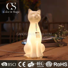 Animal shaped ceramic table lamp animal base table lamp