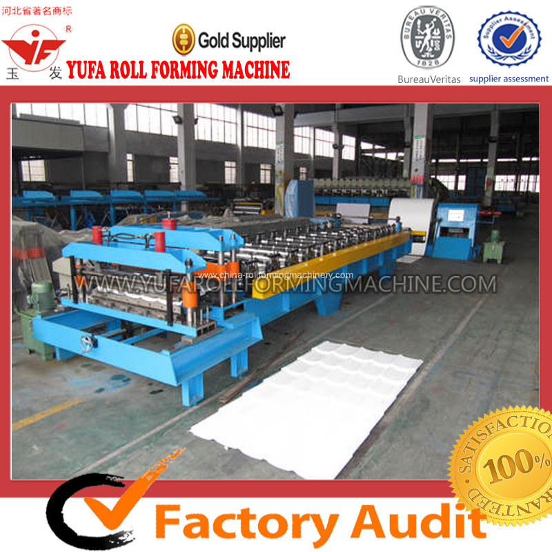 High-end Step Tile Forming Machine Top Quality and Service