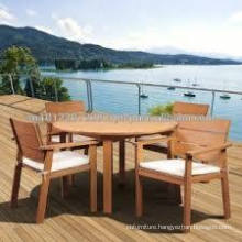 Acacia & Eucalyptus Solid wood Outdoor / Garden Furniture Set