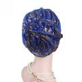 polyester chemo winter cap headwrap braids turban