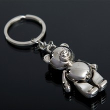 Fareast Hot Selling Metal Bear Keychain EUA