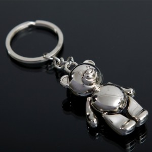 Fareast Hot Selling Metal Bear Keychain USA