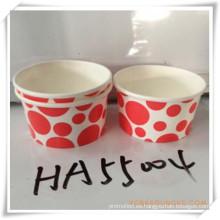 Copa de helado para regalo promocional (HA55004)