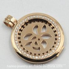 Kundenspezifische Edelstahl-Art- und Weisemünzen-hängende Schmucksachen