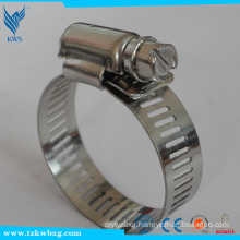 american type stainless steel hose clamp/hose hoops/clips                                                                         Quality Choice
