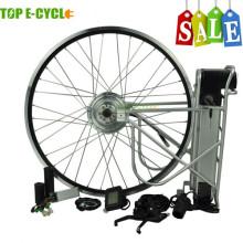 TOP / OEM Europa utilizó el kit de motor eléctrico mejor vendido de la bicicleta 250w