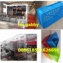Turnover Basket Washing Cleaning Machine