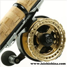 Aluminium Machine Cut Fishing Raft Reel