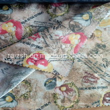Polyester Printed Lining Satin Fabric Printed Taffeta Lining