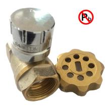 Valve verrouillable magnétique en laiton sans plomb avec clé