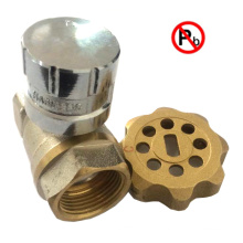 Lead free Brass Magnetic Lockable Valve with Key