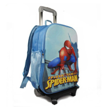 Marca crianças carrinho mochila, sacos de trole Cool escola para meninos