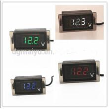 12V светодиодный цифровой вольтметр/Дисплей напряжения метр