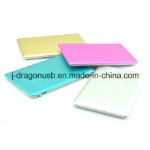 Various Colors Super Thin Card Shape 10400mAh Power Banks Pw017