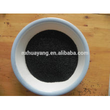 China atacado óxido de alumínio black sand blast media