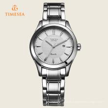 Moda de luxo mulheres senhora vestido relógio de quartzo 71095