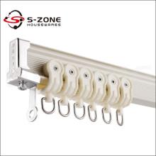 Rail rideau en aluminium flexible pour l'étape
