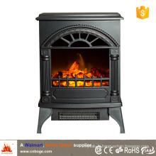 CSA / CE poêle à bois chauffe-foyer électrique à style