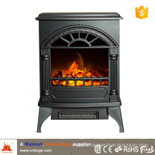 CSA/CE small wood stove style electric fireplace heater