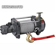 Automatic Braking Hydraulic Winch 15000 lb For Trailer