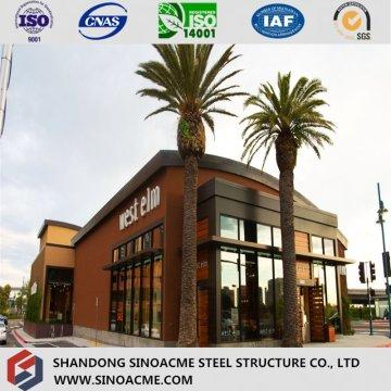 Avustralya Standart Sertifikalı Çelik Yapısal Mağaza / Pazar