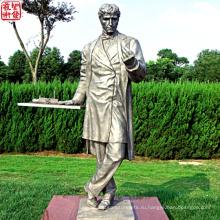 2016 Новая бронзовая статуя Бронзовая портретная скульптура для украшения сада