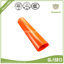 Vinyl Truck Tarp Cover 1000D 900gsm Orange