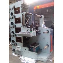 Máquina de impressão flexográfica (ZB-320-5 Color) Turn Bar