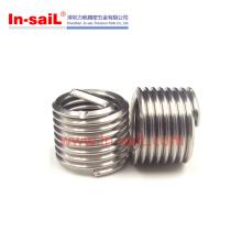 2016 hecho en el fabricante de los bujes roscados del acero inoxidable de China