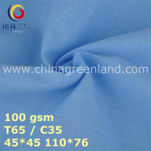 Polyester Plain Cotton Fabric for Garments Industry (GLLML448)