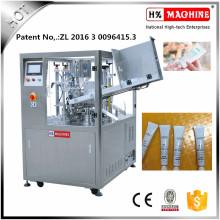 Máquina de llenado y sellado de tubo suave de ungüento de alivio de dolor con CE