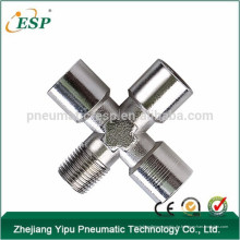 pneumatische T-Gummischlauch-Fittings