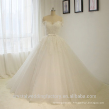See Through Back Alibaba Cap Sleeve Ball Gown Lace wedding Dresses Bridal Gown vestidos de novia With Sweetheart 2016 LWB03