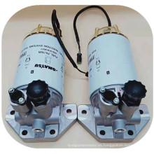 Piezas de excavadora PC200-8 conjunto de separador de aceite y agua 600-319-5611