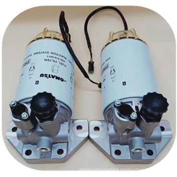 Excavator Parts PC200-8 oil-water separator assy 600-319-5611