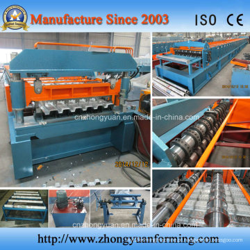 6 Corrugate Corrugate Floor Decking Forming Machine