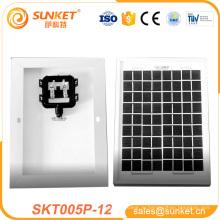 лучшие price12v 5W портативный сила панели солнечных батарей 12 В 5 Вт портативный панели солнечных батарей с CE TUV в
