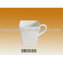 Caneca de chá de porcelana por atacado direto da fábrica