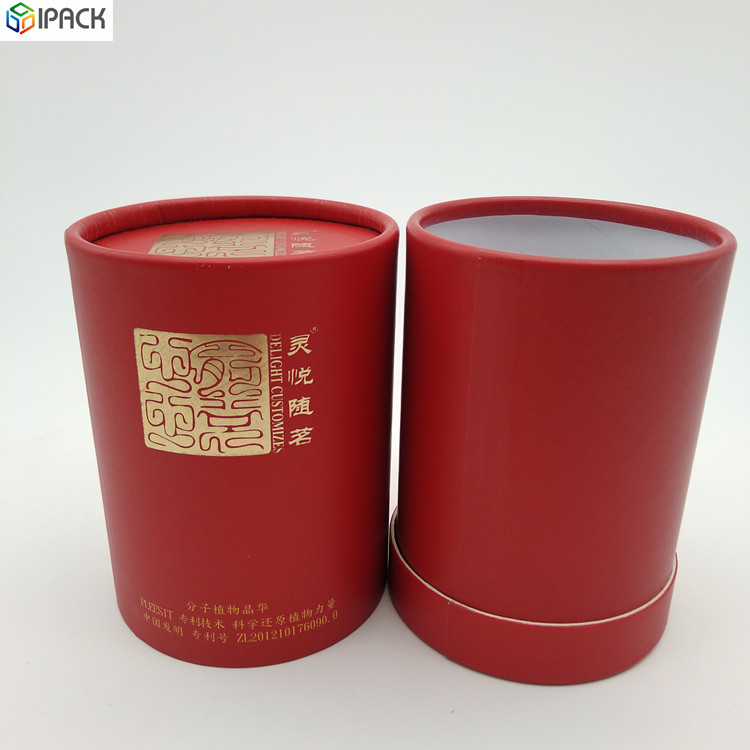 Tea Cylinder Packaging Box